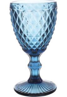 Cj De Taças Bico De Abacaxi Azul 6 Peças - Tricae