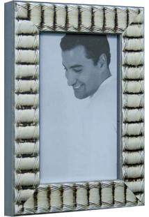 Porta Retrato De Mesa Para Foto I 10X15 Cm Prata