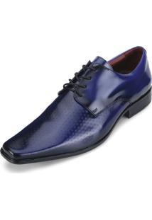 Sapato Pro Mais As18-0357Co Verniz Dark Blue