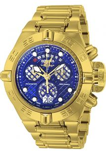 Relógio Invicta Subaqua Analógico 014498 Masculino - Masculino-Dourado