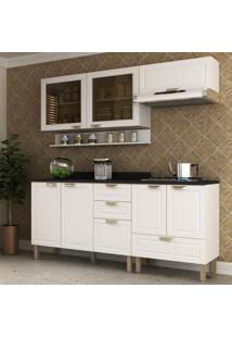 Cozinha Completa 6 Peças Americana Multimóveis 5916 Branco