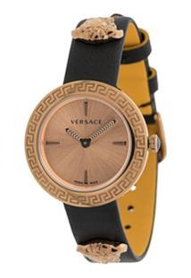Versace Medusa Stud Watch - Dourado