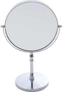 Espelho Cromado Duplo Prestige 35 X 24 Cm - 26988