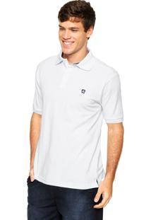 Camisa Polo Mr Kitsch Manga Curta Basic Branca