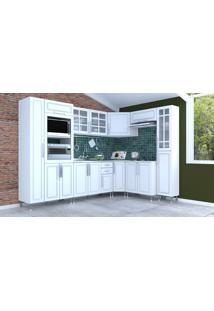Cozinha Completa Indekes Sonia 8, Branco, 8 Peças - 139590