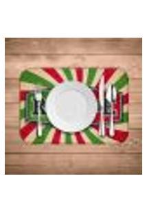 Jogo Americano Wevans Restaurante Italiano Kit Com 4 Pçs