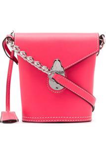 Calvin Klein Bolsa Tote Estruturada - Rosa