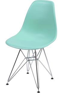 Cadeira Eames Dsr Verde Tiffany