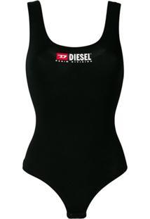 Diesel Body Com Logo - Preto