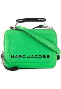 Marc Jacobs Printed Logo Tote Bag - Verde
