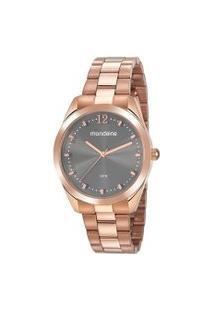Kit Relógio Feminino Mondaine 53812Lpmvre4K Analógico 5Atm + Brinde | Mondaine | Rosa | U