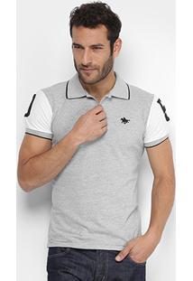 Camisa Polo Rg 518 Piquet Bordado Masculina - Masculino