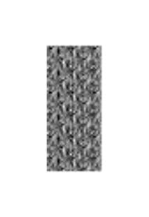 Adesivo Decorativo De Porta - Pele De Zebra - 086Cnpt Auto Colante