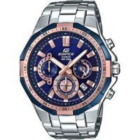 74b1b22e27a Relógio Casio Edifice Masculino - Masculino-Prata