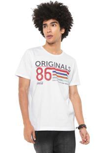 Camiseta Coca-Cola Jeans Originals Branca