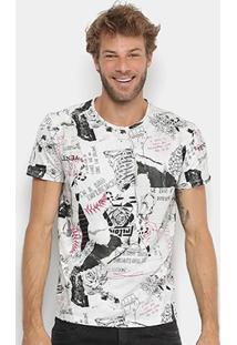 Camiseta Triton Estampada Full Print Masculina - Masculino
