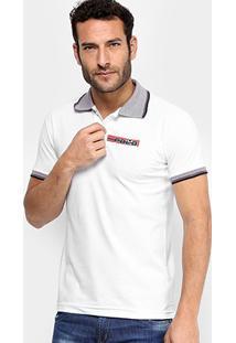 Camisa Polo Rg 518 Estampa Relevo Masculina - Masculino