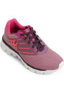 Tênis Pink Roxo feminino  dff45b0532f79