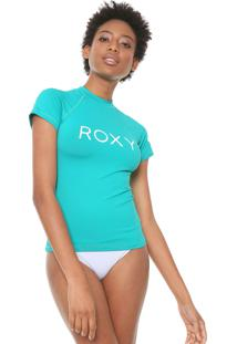 Camiseta Roxy Surf Summer Verde