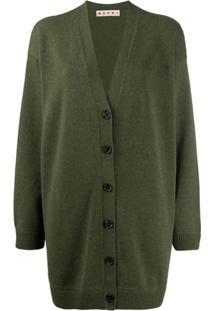 Marni Cardigan Oversized - Verde