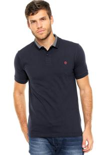 Camisa Polo Timberland Millers Azul