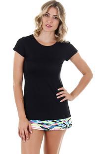 Camiseta Feminina Aiyra - Preto