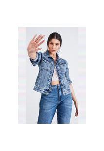 Jaqueta Jeans Marbec Aurora Azul