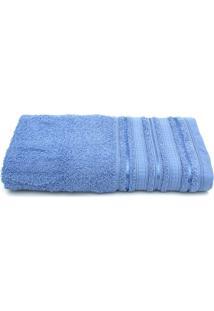 Toalha De Banho Santista Holly Azul - Azul - Dafiti