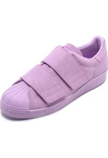 053e4584b46 ... Tênis Adidas Originals Superstar 80S Cf W Lilás