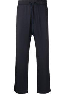 Barena Drawstring Loose Fit Trousers - Azul