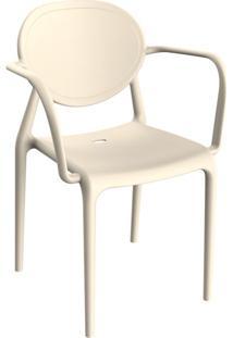 Cadeira Slick Com Braço Marzipan