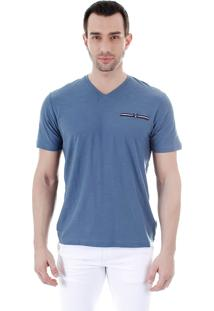 Camiseta Masculina Ocean Bay - Azul