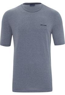 Camiseta Azul Mesclada