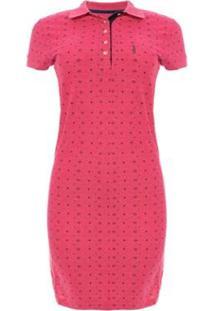 Vestido Aleatory Mini Print Strong Feminino - Feminino