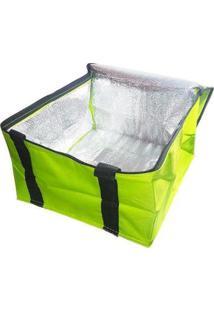 Bolsa Térmica Lancheira Fitness 12 Litros - Unissex-Verde