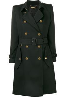 Givenchy Trench Coat Com Cinto - Preto