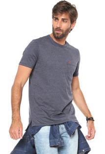 Camiseta Hering Mullet Azul-Marinho