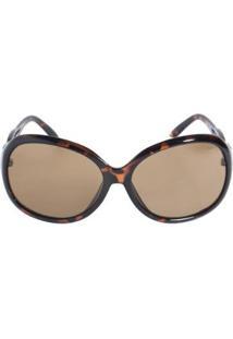 Óculos De Sol Triton Eyewear Feminino - Feminino-Marrom
