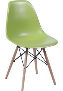 Cadeira Eames Dkr- Verde & Bege- 80,5X46,5X42Cm-Or Design