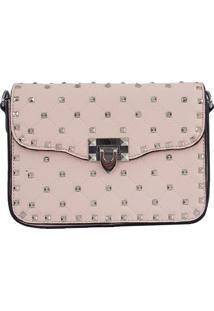 Bolsa Bag Dreams Tacia Com Spikes Grande Rosa