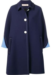Marni Trench Coat Oversized - Azul