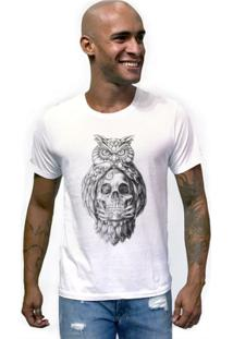 Camiseta Joss Caveira Coruja Masculina - Masculino