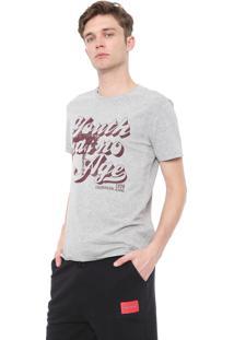 Camiseta Calvin Klein Jeans Youth Cinza