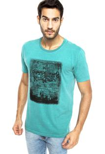 Camiseta M. Officer Estampa Verde