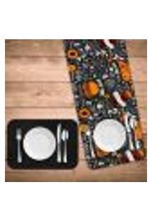 Jogo Americano Com Caminho De Mesa Wevans Fast Food Kit Com 4 Pçs + 1 Trilho