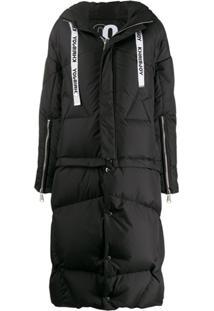 Khrisjoy Oversized Puffer Jacket - Preto