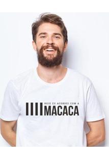 Camiseta Zé Carretilha Macaca Masculina - Masculino