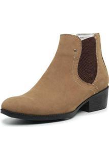 Bota Country Feminina Top Franca Shoes - Feminino-Bege