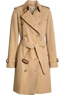 Burberry Trench Coat The Kensington Heritage - Neutro