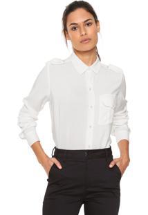 Camisa Lez A Lez Básica Off-White
